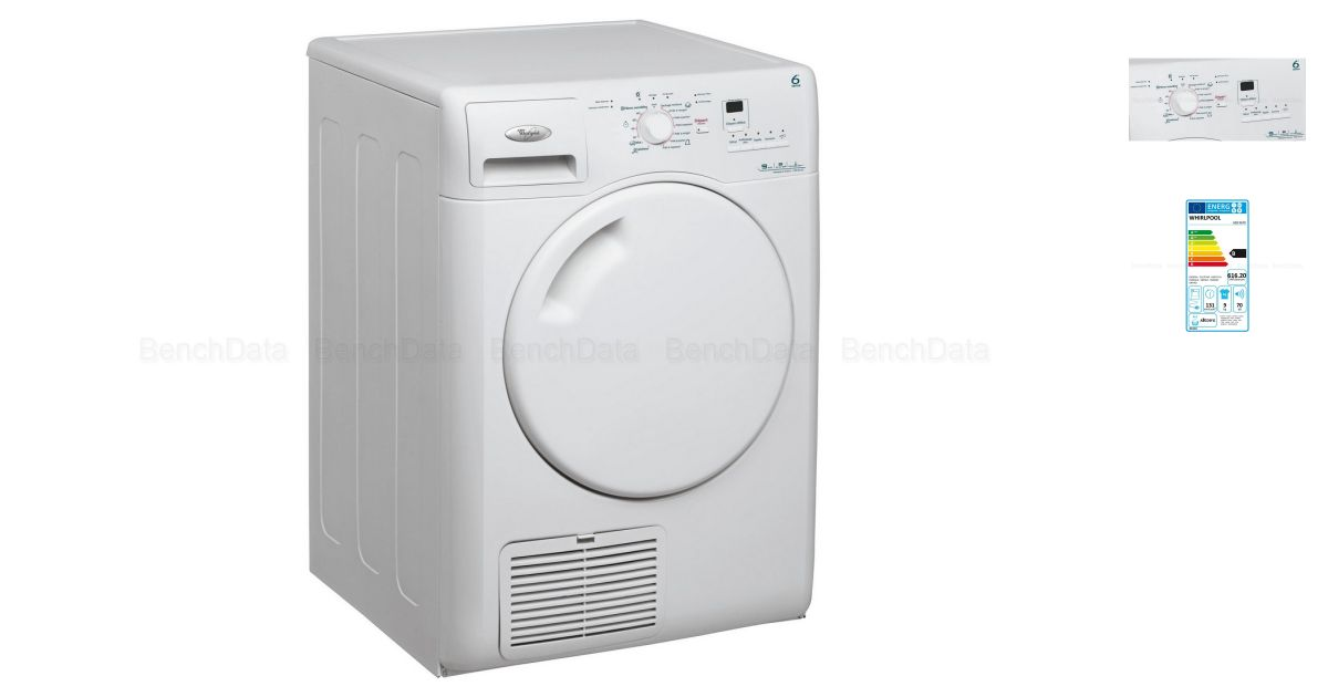 Whirlpool DELY9000 Seche Linge Frontal 9kg Blanc