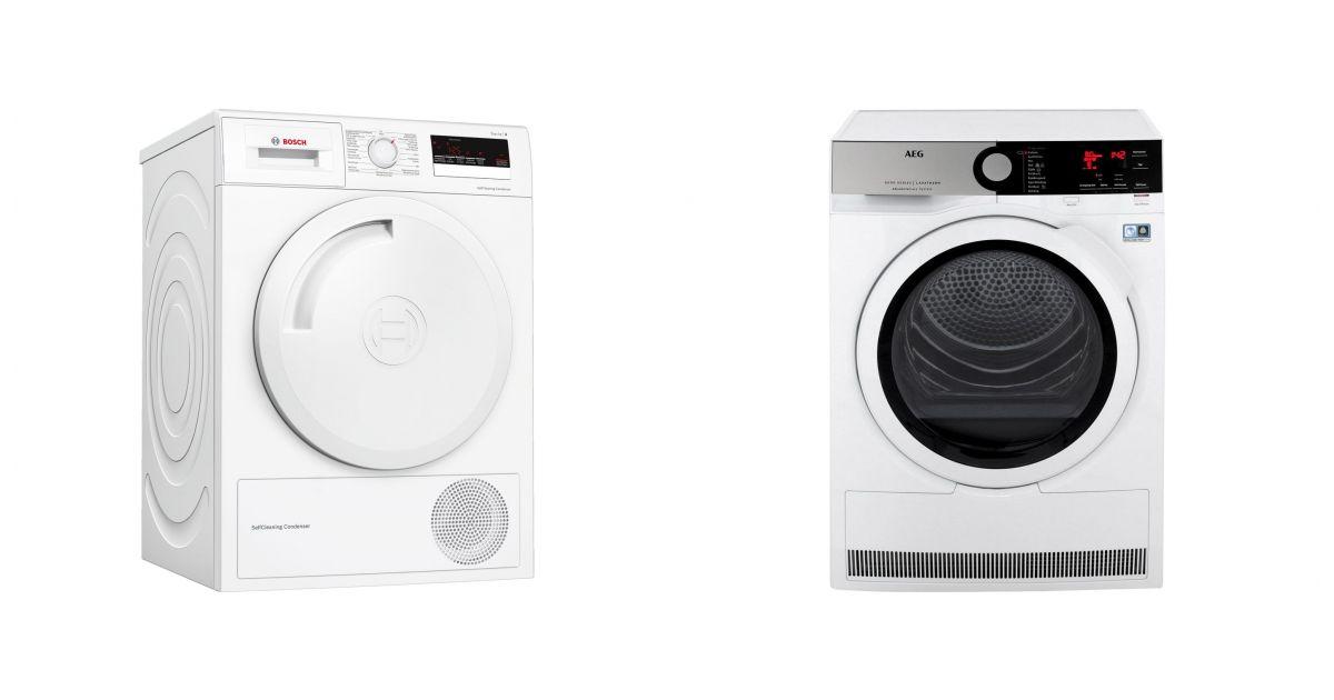 comparatif bosch wtm852e1fg vs aeg t8de84ew seche linge. Black Bedroom Furniture Sets. Home Design Ideas