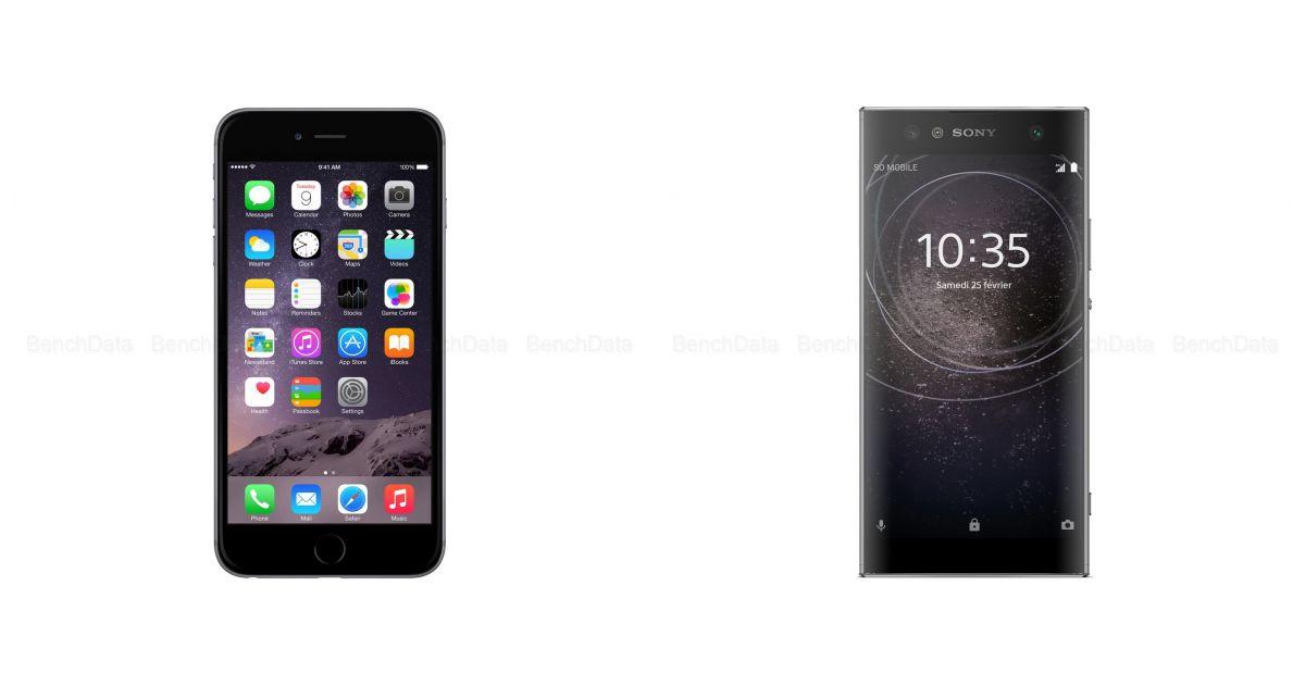 comparatif apple iphone 6 plus 64go 4g vs huawei mate 10. Black Bedroom Furniture Sets. Home Design Ideas