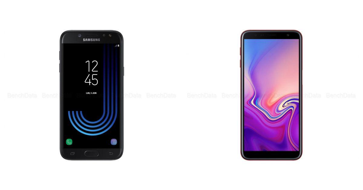 comparatif samsung galaxy j5 2017 double sim 16go 4g vs samsung j4 galaxy 2018 double sim. Black Bedroom Furniture Sets. Home Design Ideas