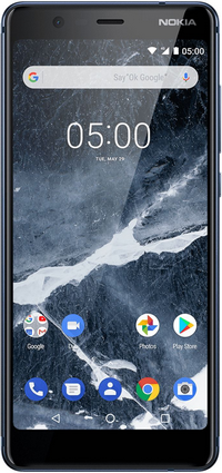 NOKIA 5.1, Double SIM, 32Go, 4G