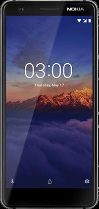 NOKIA 3.1, Double SIM, 16Go, 4G