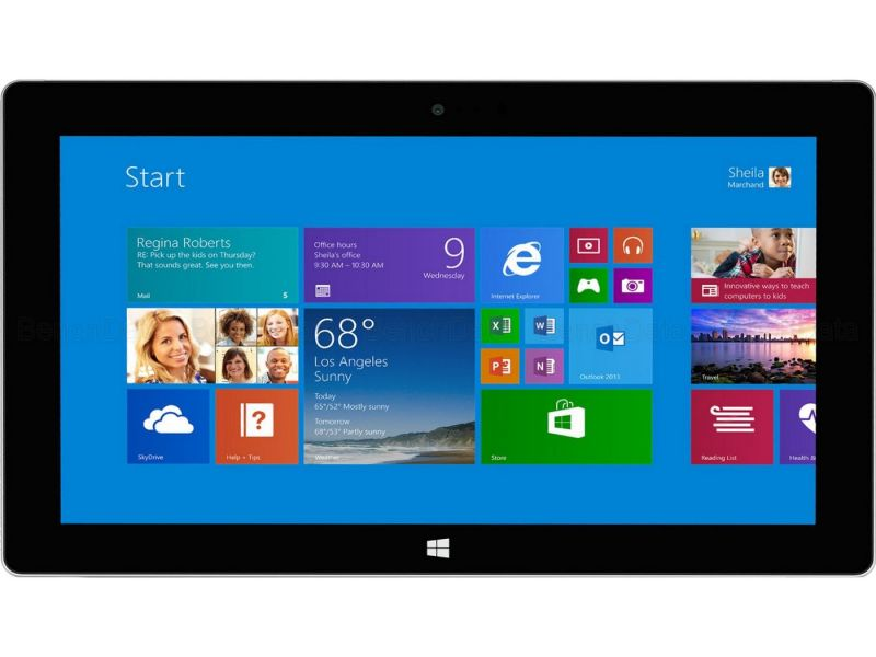 Microsoft Surface Pro 2, 256Go