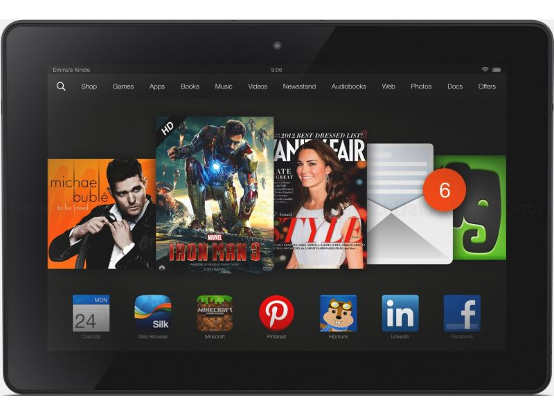 Amazon Kindle Fire HD 8.9, 32Go