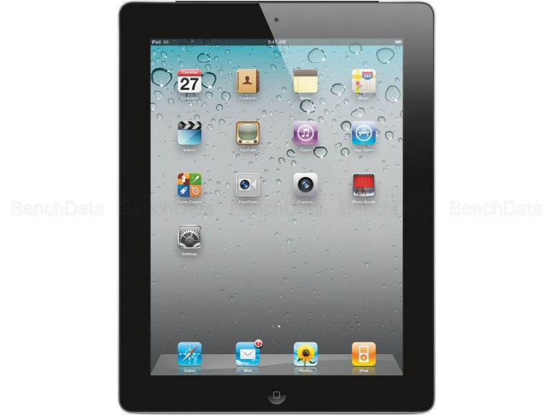 Apple iPad 2 Wi-Fi + Cellular, 64Go, 3G