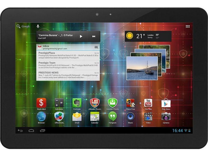 Prestigio MultiPad 10.1 Ultimate, 16Go, 3G
