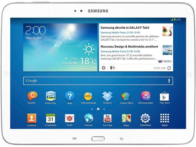 Samsung Galaxy Tab 3 10.1, 16Go