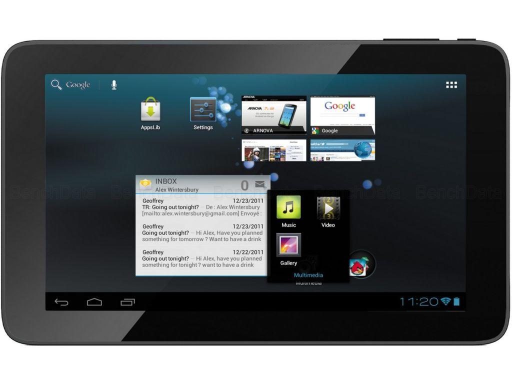 tablette id=TAB archos arnova d g go
